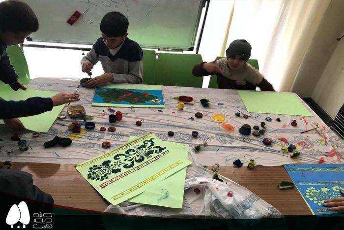 برگزاری کلاسهای بازی و هنر